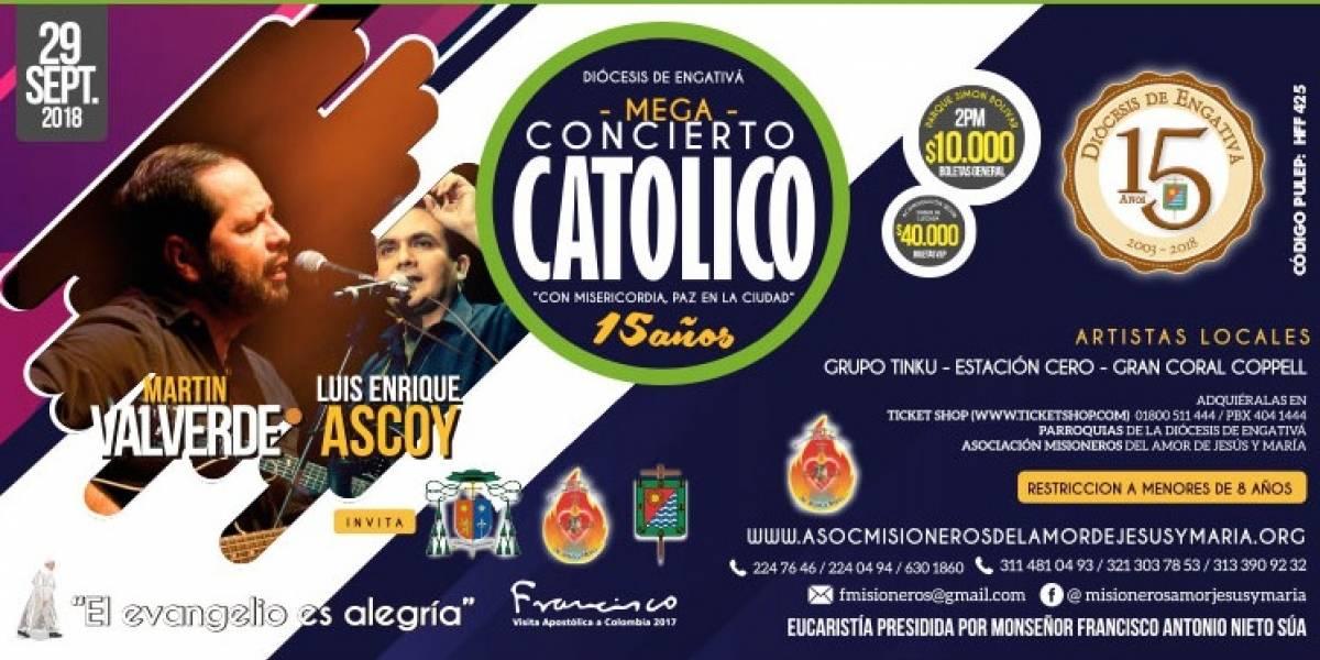 Este fin de semana el Gran Megaconcierto Católico en el Parque Simón Bolívar