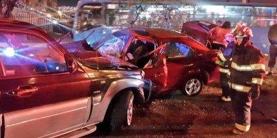 Accidente de tránsito en la Av. Galo Plazo Lasso y Rafael Ramos.