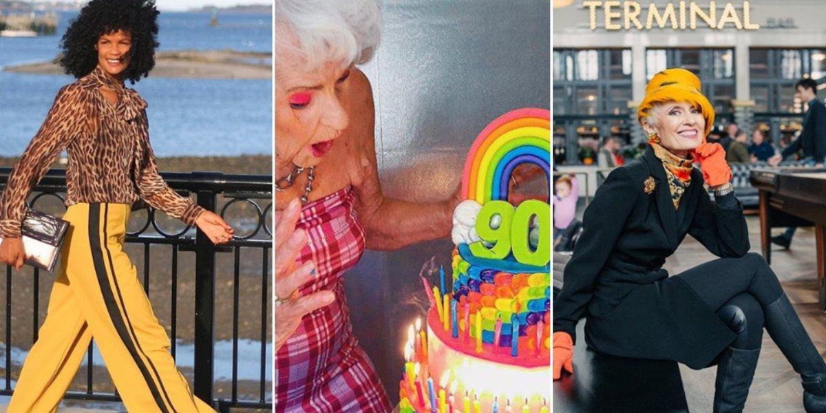 6 influencers do Instagram que provam que estilo não tem idade
