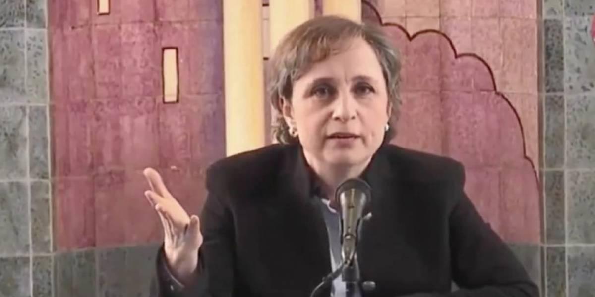 Carmen Aristegui regresará a la radio el 17 de octubre
