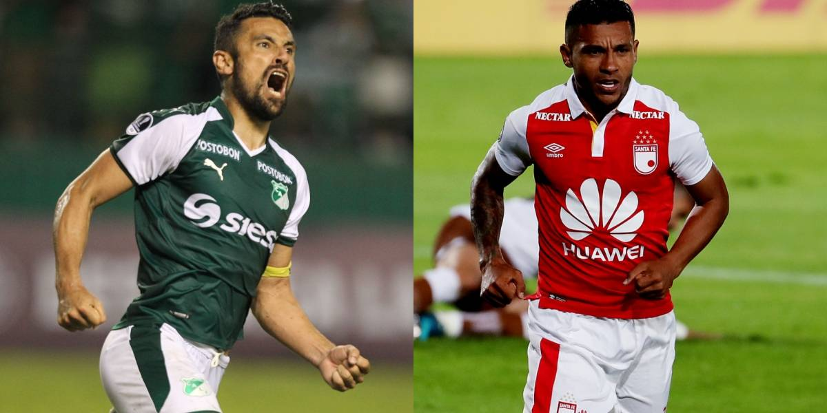 Santa Fe y Deportivo Cali protagonizan el partidazo de la fecha 12 en la Liga Águila