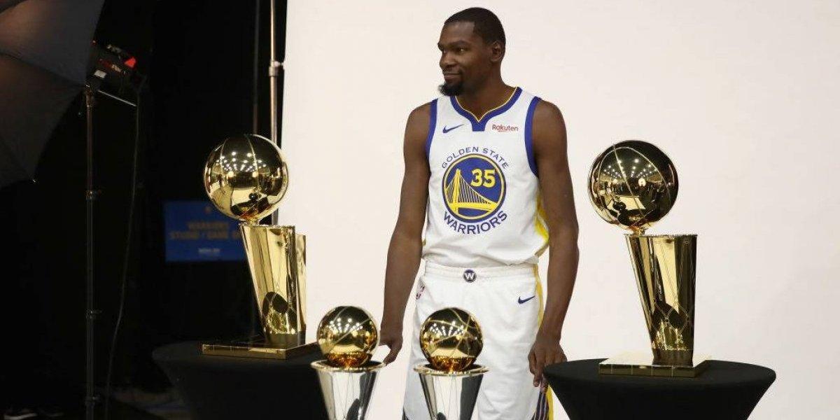 """Kevin Durant y el """"odio"""" que generan los Warriors en la NBA: """"Lo que tenemos nosotros asusta a todo el mundo"""""""