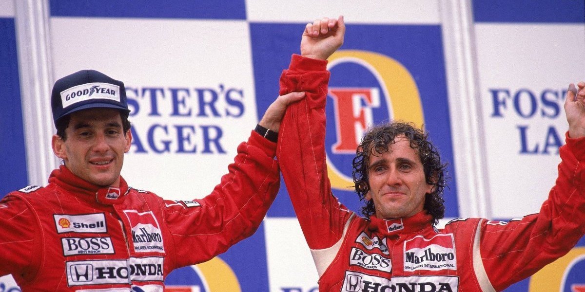 Alain Prost revela cómo era su relación con Ayrton Senna