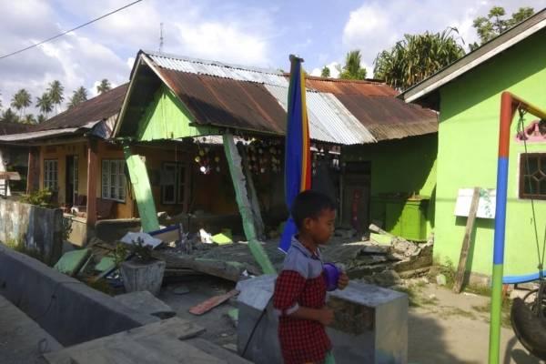 Terremoto en Indonesia de septiembre.