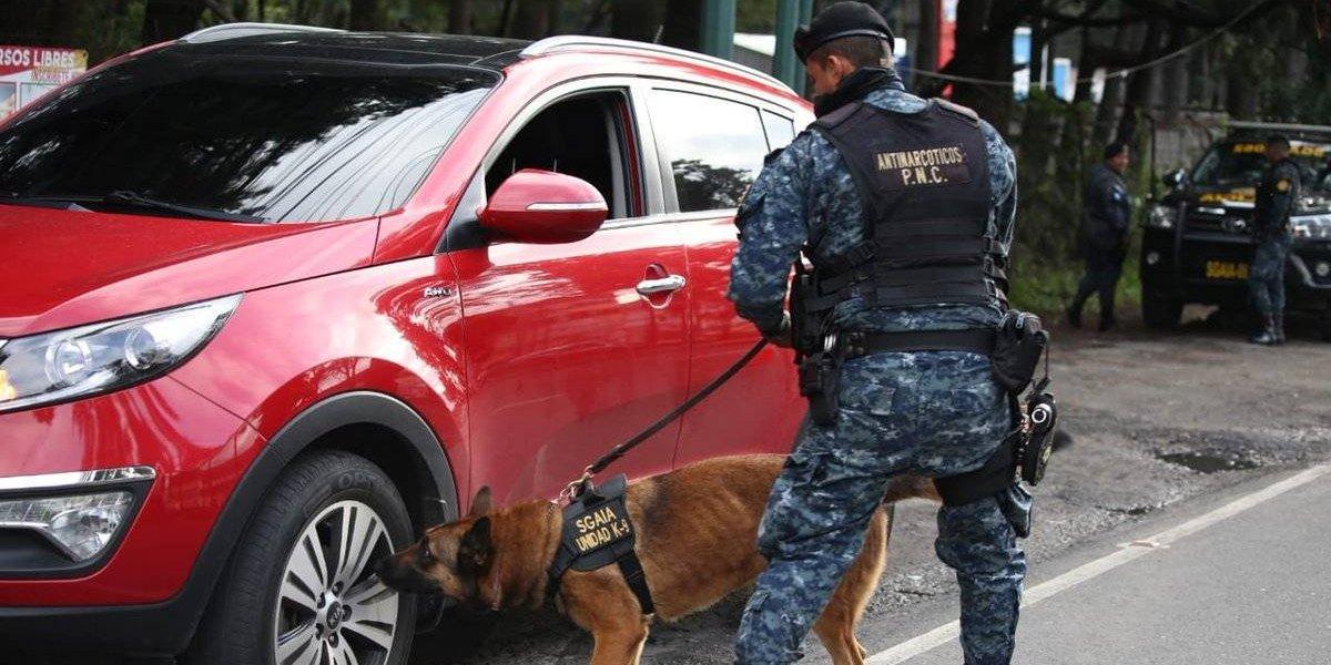 PNC realiza cinco operativos de verificación en el departamento de Guatemala