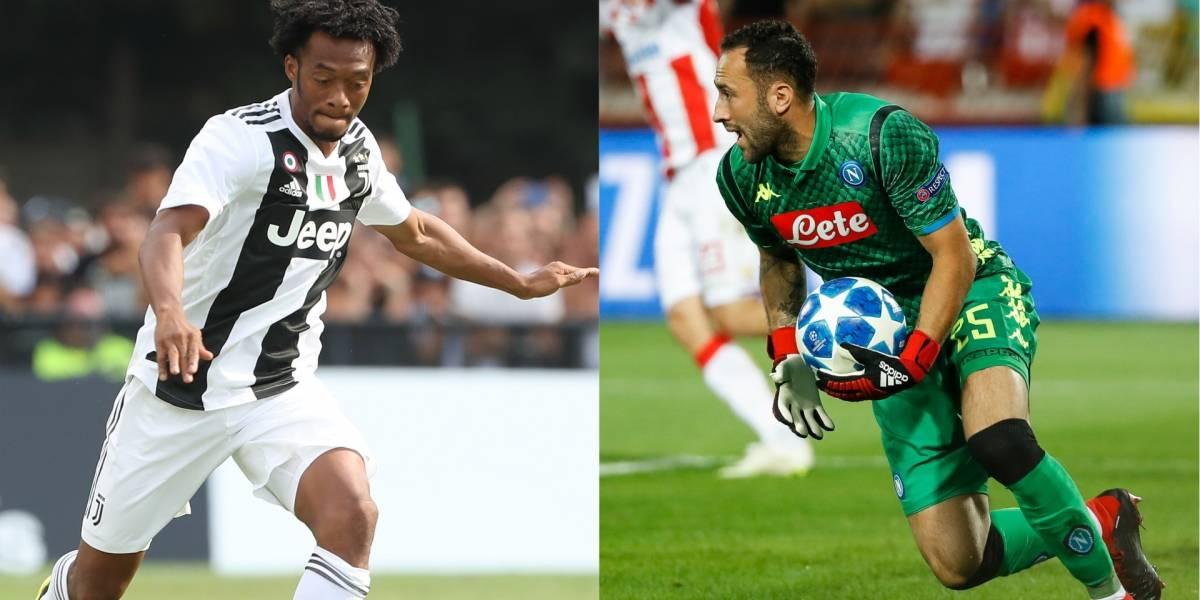 Juventus recibe a Napoli — Duelo de titanes