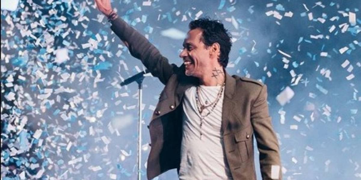 Marc Anthony devolverá dinero por su concierto y lo pondrá gratis en YouTube