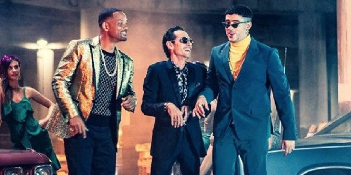 """""""Está rico"""": el nuevo videoclip que reúne a Bad Bunny, Marc Anthony y Will Smith"""
