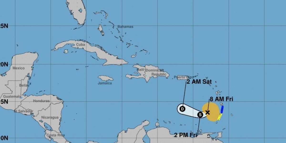 Tormenta tropical Kirk comienza a debilitarse