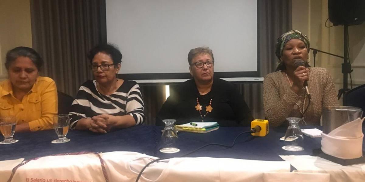Trabajadoras domésticas piden al Congreso derechos laborales