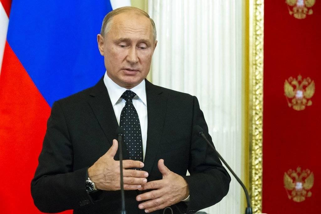 Su nombre completo es Vladímir Vladímirovich Putin Foto: Getty Images