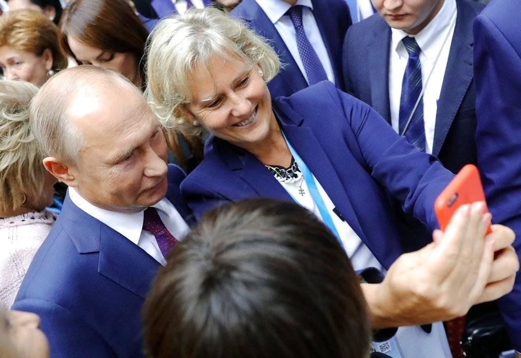 De 1983 a 2014 estuvo casado conLiudmila Pútina Foto: Getty Images