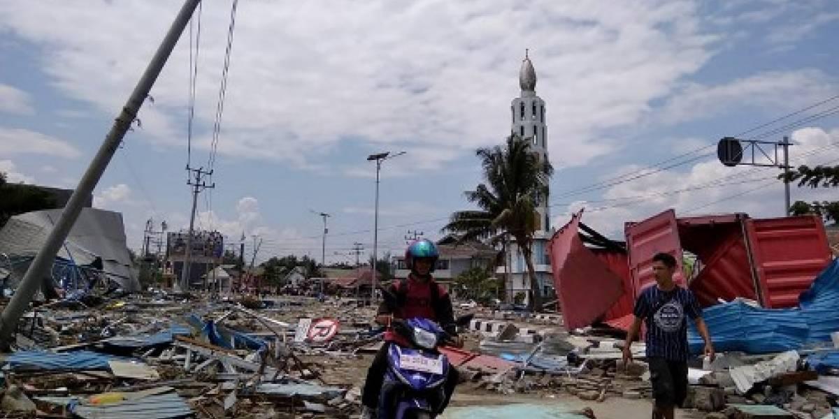 VIDEO. Cientos de muertos en sismo y tsunami en Indonesia