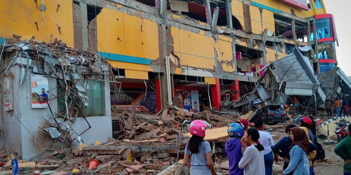 Mortes por terremoto na Indonésia passam de 380; número deve aumentar, diz governo
