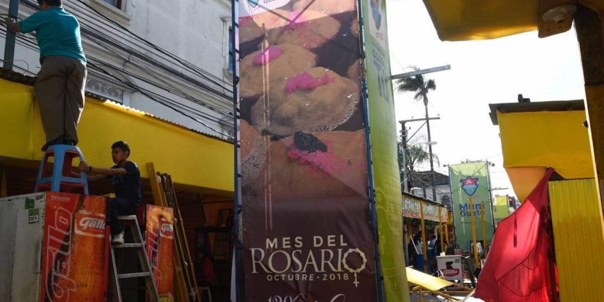 EN IMÁGENES. Inician preparativos para celebrar a la patrona de la República de Guatemala