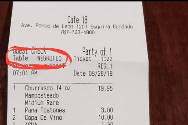 Café 18 - racismo