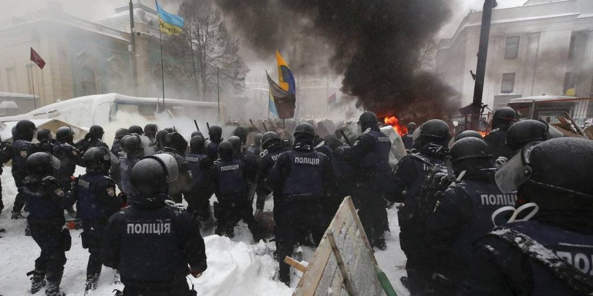 Tres heridos por explosión en reunión comunista en Ucrania
