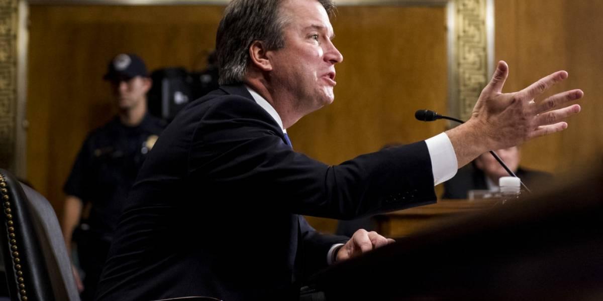 Avanza nominación de juez Kavanaugh, pero piden investigación del FBI