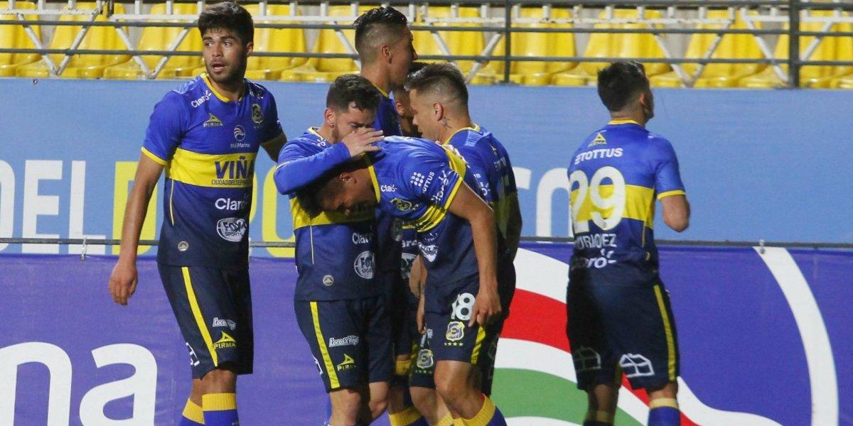 Everton salió de la zona de descenso y logró tres puntos de oro ante Audax Italiano