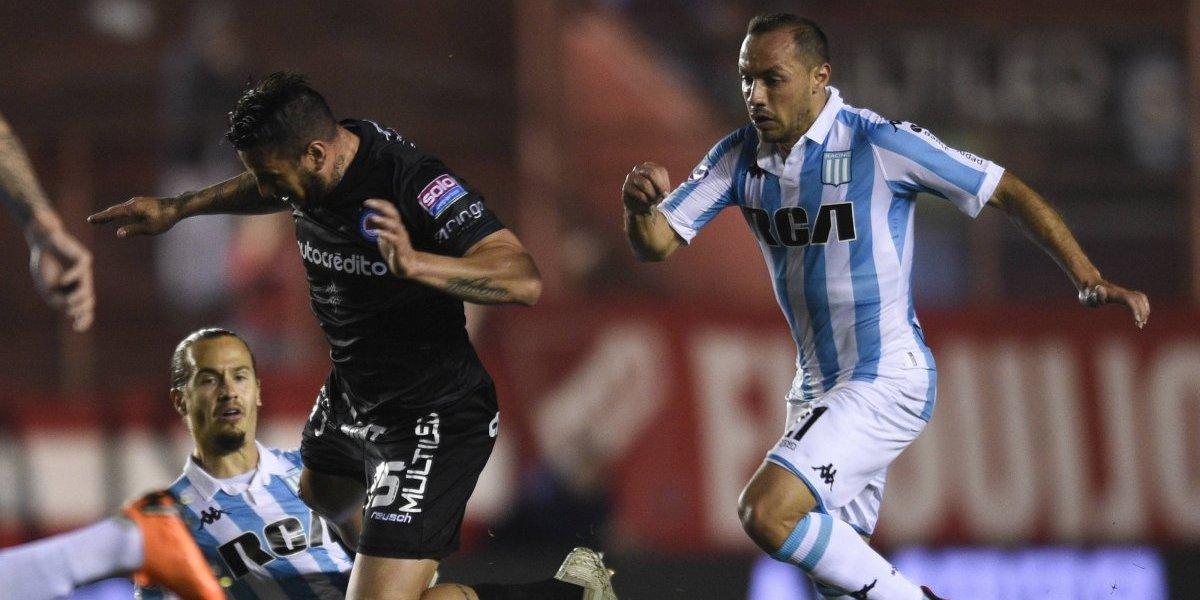 Ya es costumbre que Racing gane con sus tres chilenos en cancha: ahora vencieron a Argentinos Juniors