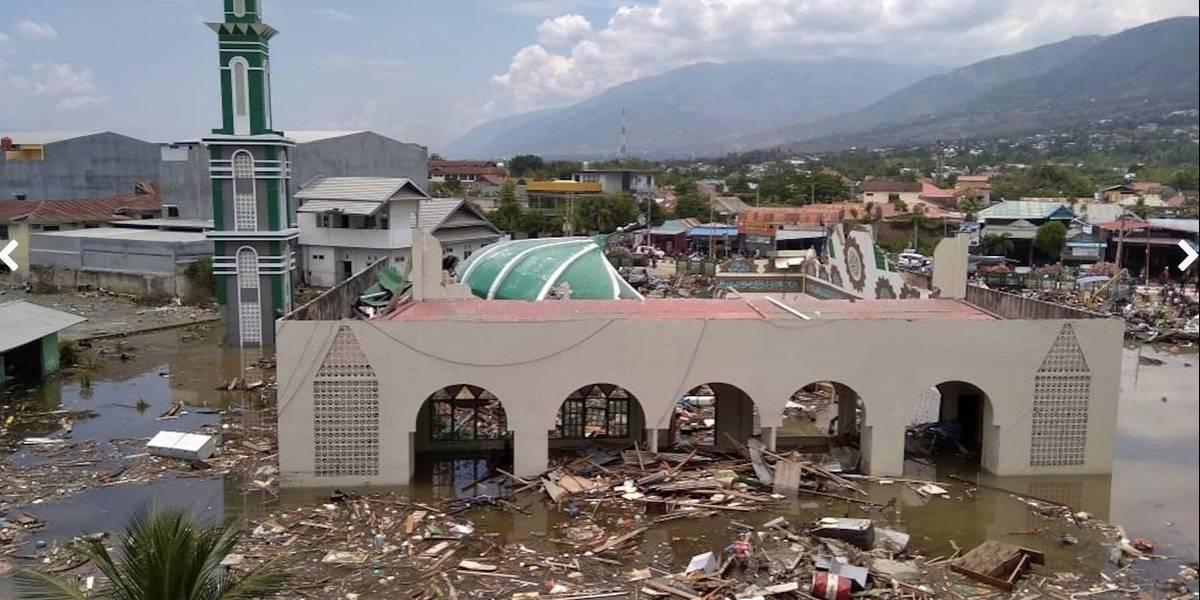 Casi 400 muertos por el terremoto y tsunami en Indonesia