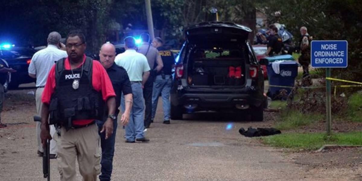 Tiroteo en Mississipi deja dos policías muertos