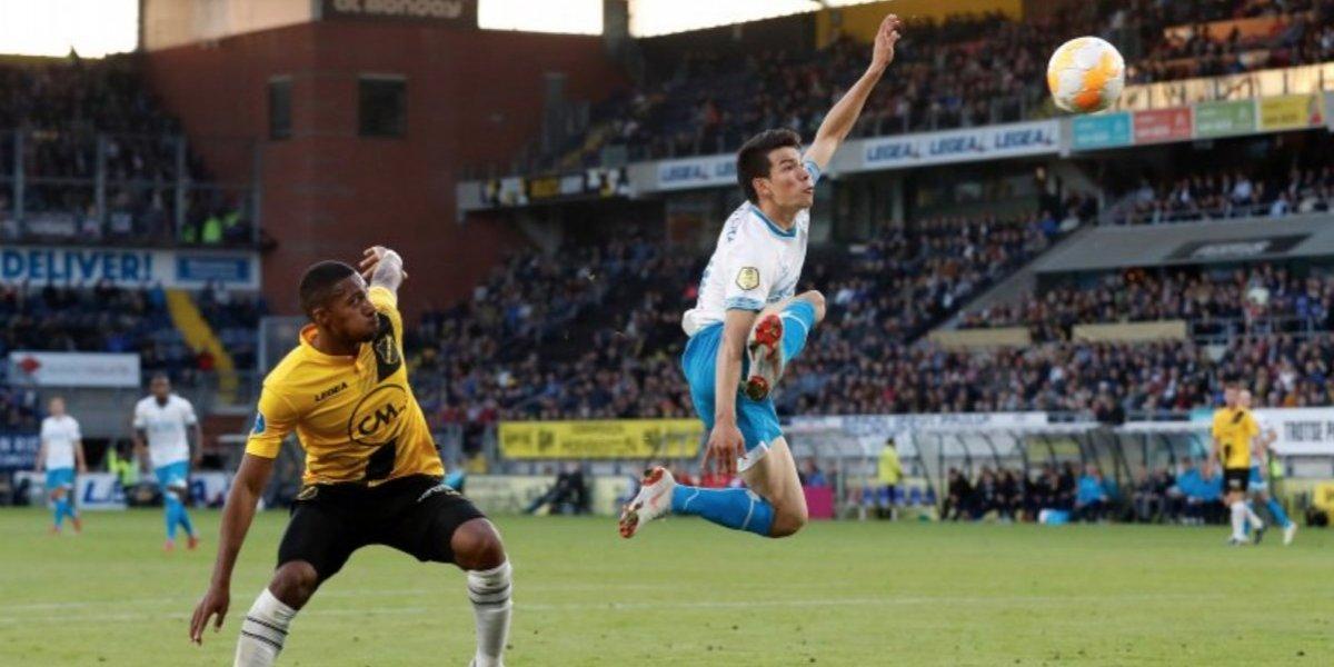 Con 'Chucky' de titular, el PSV afianza liderato al vencer al NAC