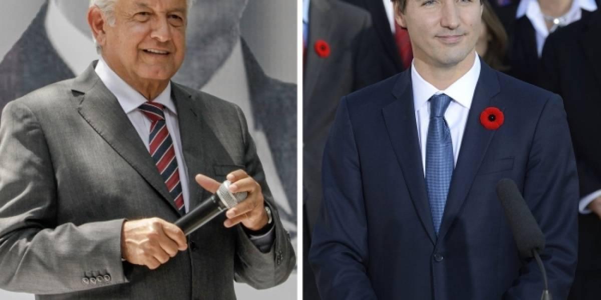 Confirma Canadá conversación telefónica entre AMLO y Trudeau