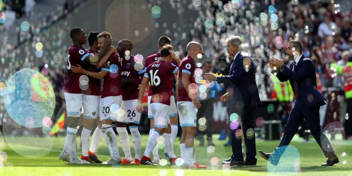 Pellegrini le dio una estocada casi letal a Mourinho: West Ham derrotó al United sin Alexis