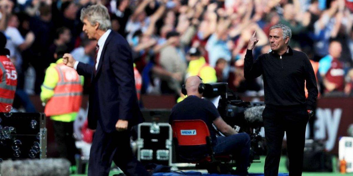 Pellegrini vs. Mourinho: el chileno volvió a golpear al portugués y sigue estrechando el historial entre ambos