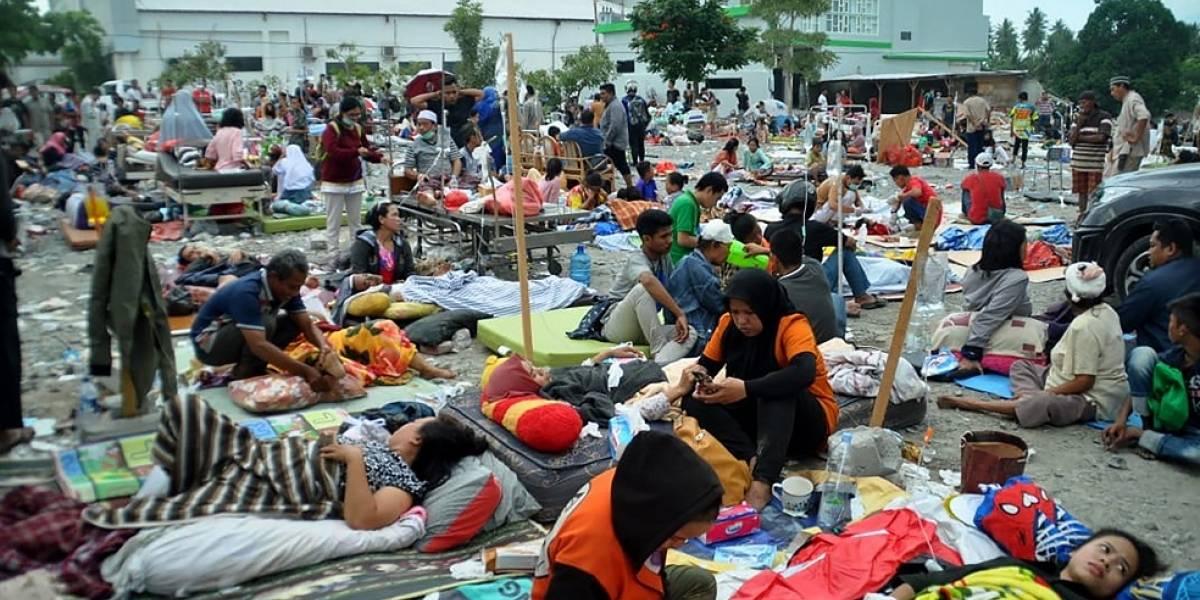 Al menos 385 muertos y 540 heridos por los seísmos y el tsunami en Indonesia