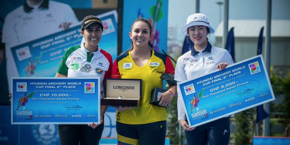 Arquera mexicana Linda Ochoa gana plata en Final Copa del Mundo
