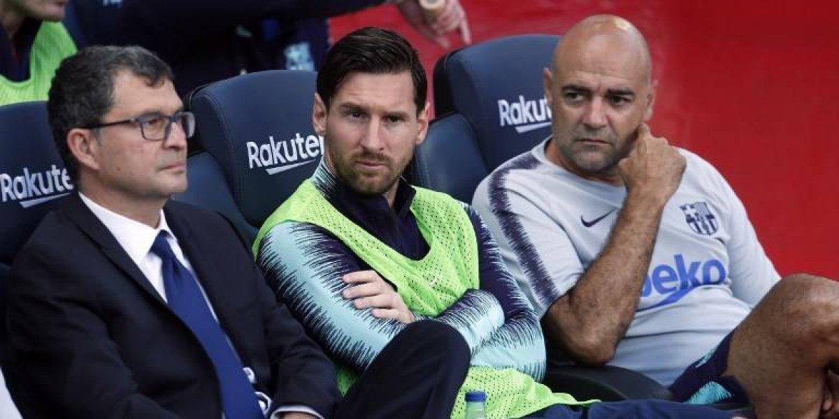 ¿Por qué Messi fue suplente? El asistente de Valverde explicó el motivo