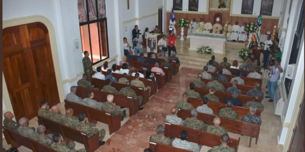 Ejército RD celebra misa con motivo de su patrono San Miguel Arcángel