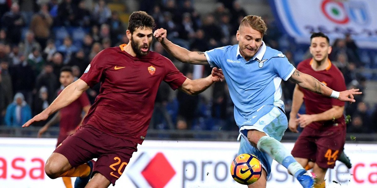Roma vs Lazio: el derbi de la capital paraliza el Calcio