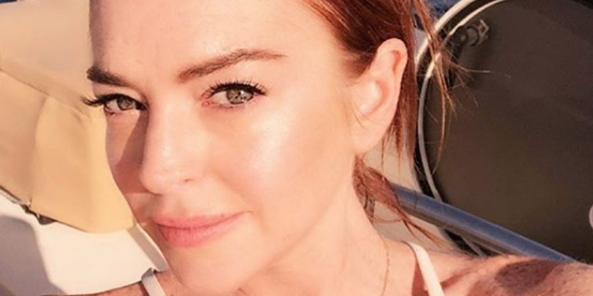 Golpean a Lindsay Lohan al tratar de llevarse a unos niños