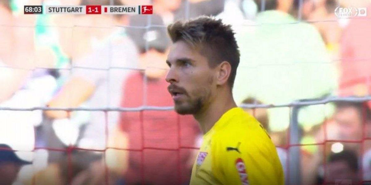 ¡Para qué te traje! De un lateral: el autogol más estúpido de la historia en la Bundesliga