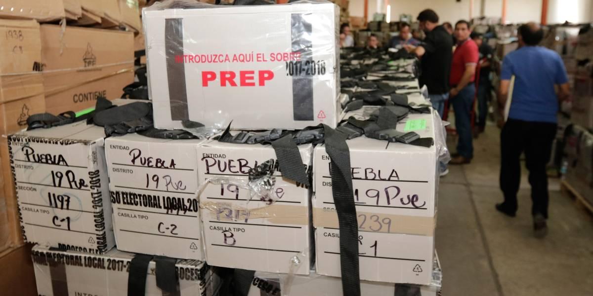 Sala Superior del TEPJF recibe la documentación de recuento de Puebla