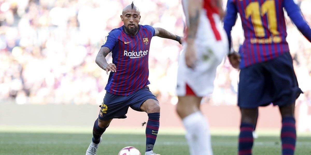 """Valverde no asegura que Vidal sea titular en el Barça: """"Es una posibilidad, nos aporta cosas"""""""