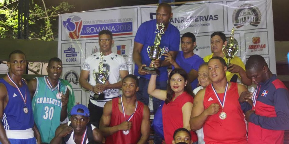 RD se proclama campeona XXXVII Copa Romana de Boxeo