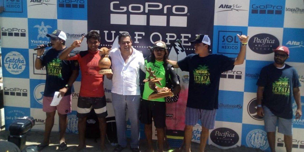 Rey Hernández, campeón del Surf Open League Ixtapa 2018