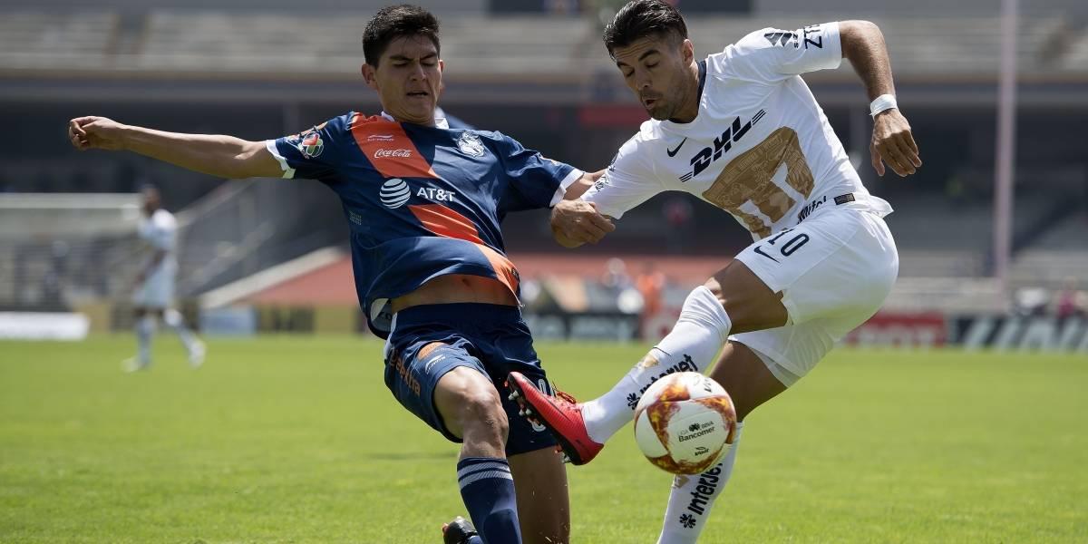 Pumas no quiso ganarle a Puebla y terminaron empatados