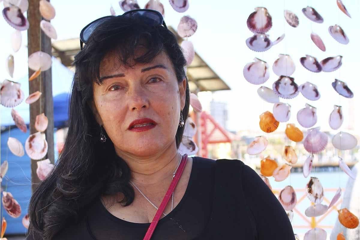 Ana María Riquelme, artesana de Antofagasta