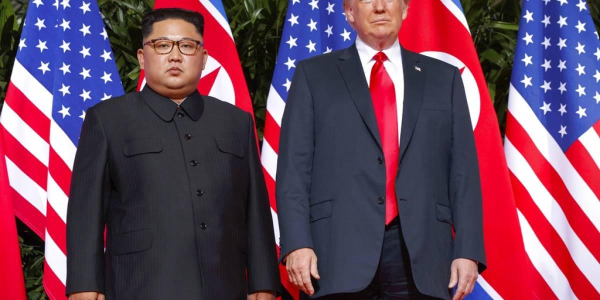 'Nos enamoramos', Trump sobre carta de Kim Jong-un
