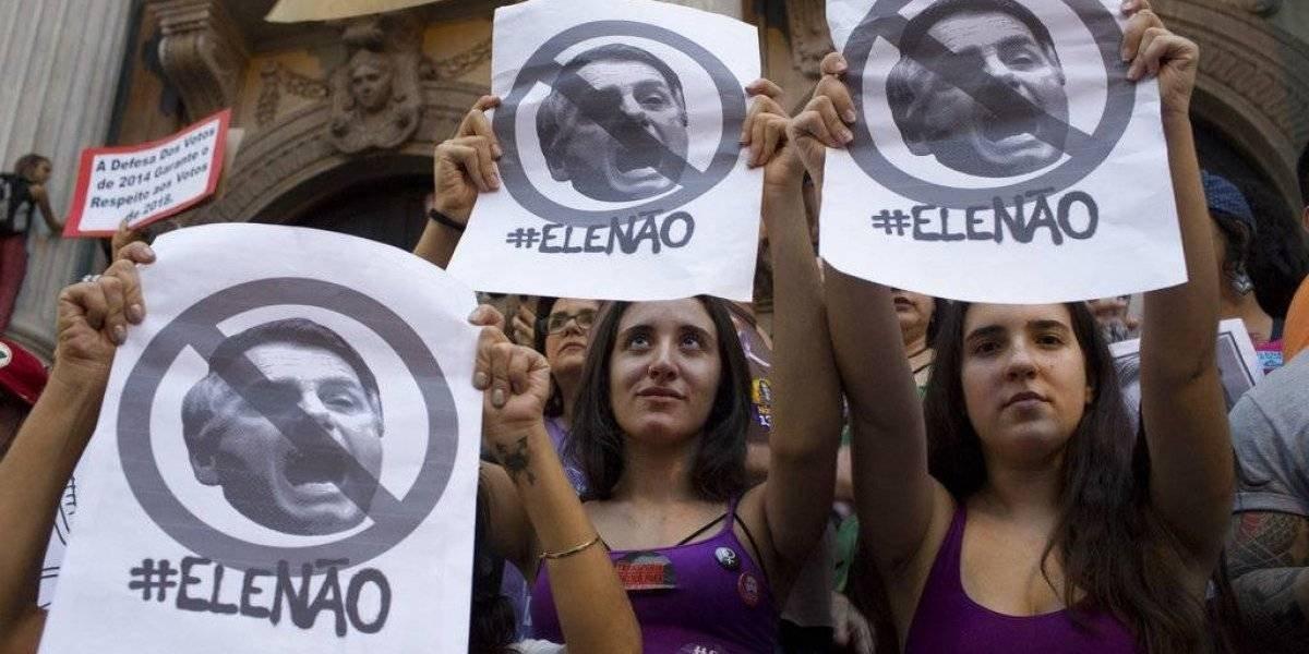 Primavera feminista en Brasil:  miles marcharon contra Bolsonaro