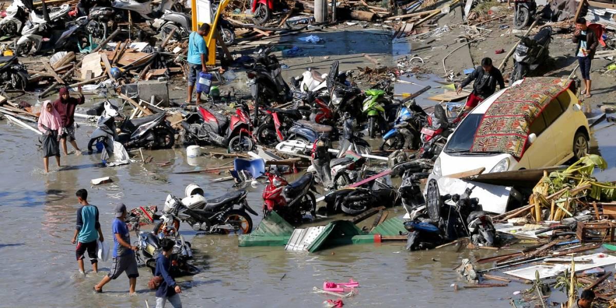 Padre e hija mueren unidos en un abrazo tras tsunami en Indonesia
