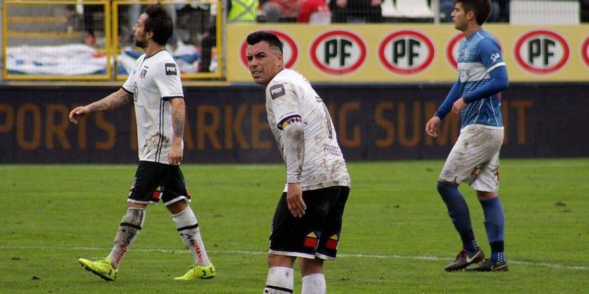Esteban Paredes se lesionó, quedó fuera ante Palmeiras y mantuvo su maldición en San Carlos