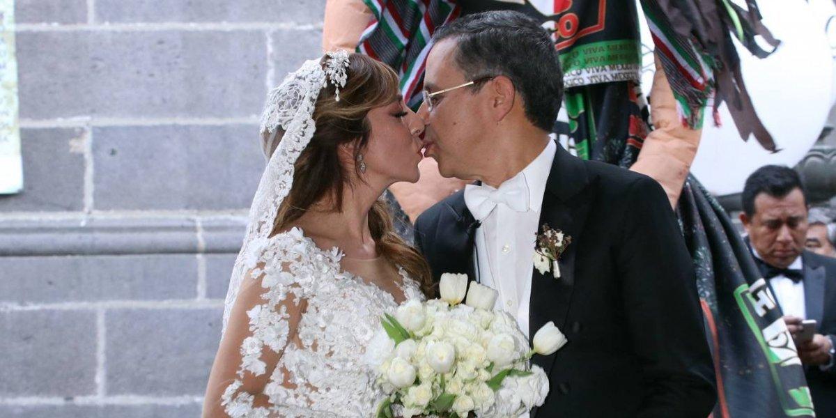 FOTOS: AMLO y la clase política, presentes en la boda de César Yáñez