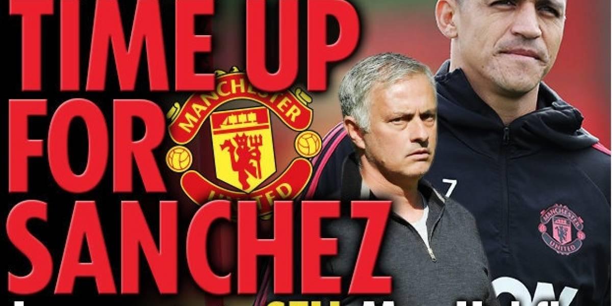 """""""Un fracaso de 500 mil libras"""": en Inglaterra dicen que Mourinho perdió la paciencia y quiere vender a Alexis"""
