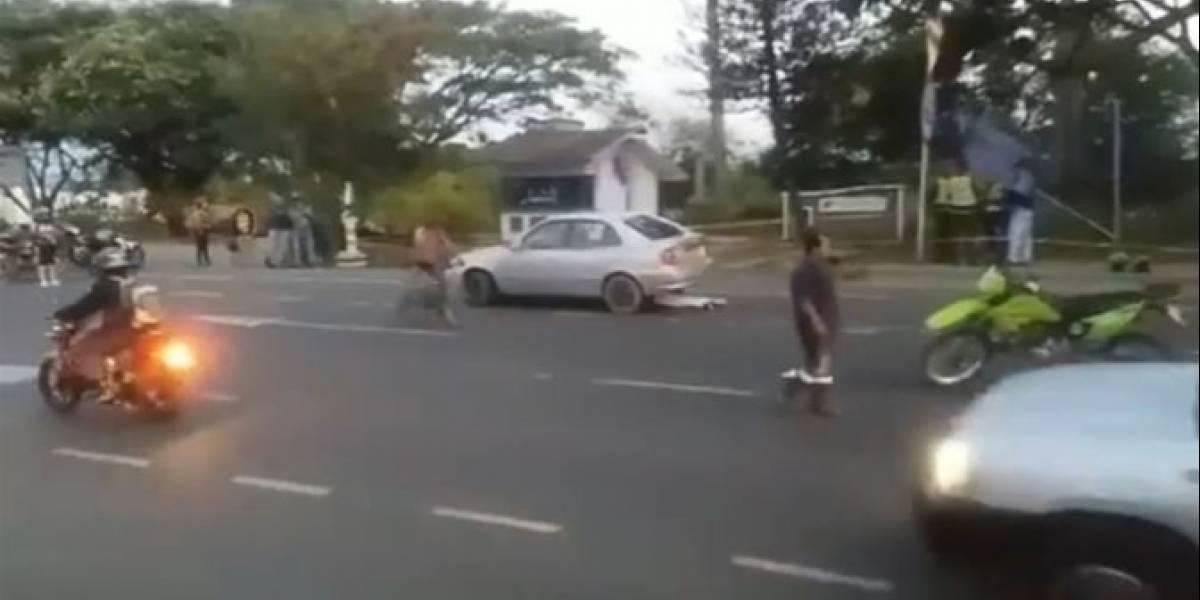 Escolta mató a un sicario e hirió a otro que terminó escapando